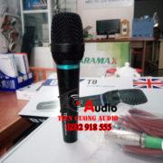 Micro Karaoke Có Dây BW T8 – Chống Hú Tốt + Bảo Hành 36 Tháng