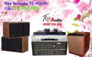 Dàn Karaoke TC-02GD giảm giá 50%