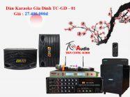 Bộ Dàn Karaoke TC-GD-01 Hát Là Hay- Nghe Là Mê