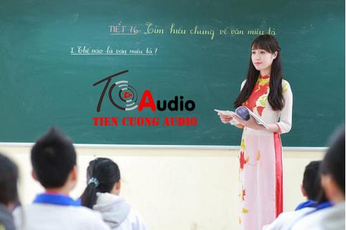 Tư vấn âm thanh phòng học chuyên nghiệp