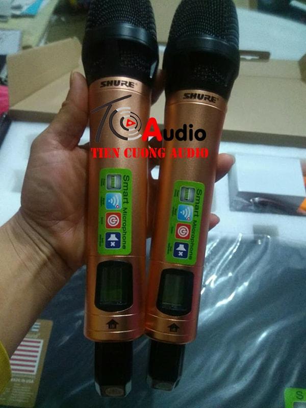 Đôi micro của bộ micro khong day Shure UR 8s