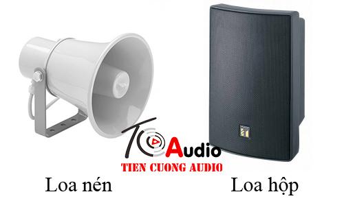 Loa dùng cho nhà xưởng ( thông báo + nghe nhạc )