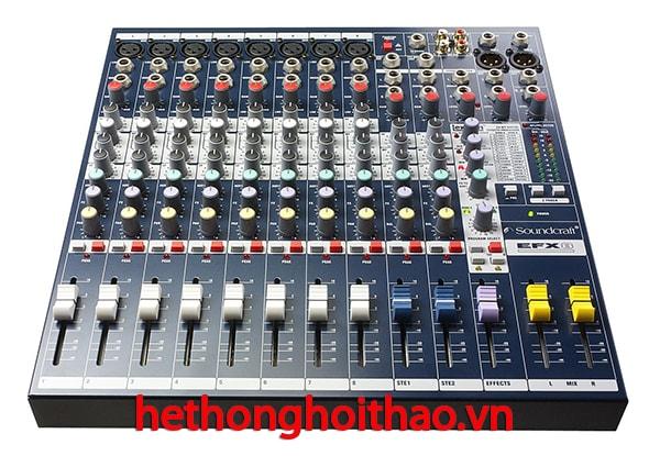 Mixer Sound Craft EFX8