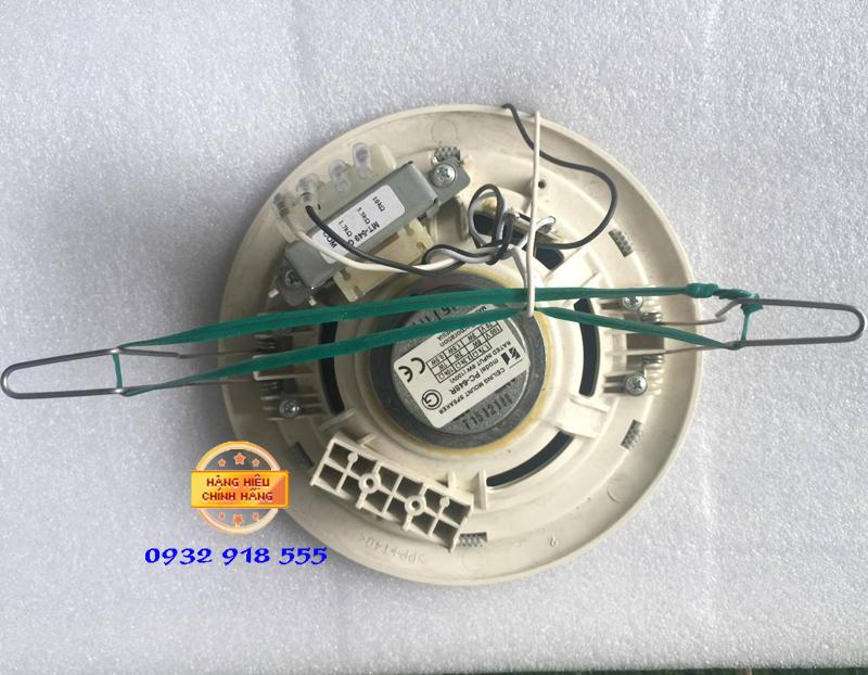 Mặt sau loa âm trần Toa PC 648R