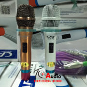 Micro Karaoke Có Dây CAF CA-P6 | Hàng Chuẩn + Bảo Hành 36 Tháng