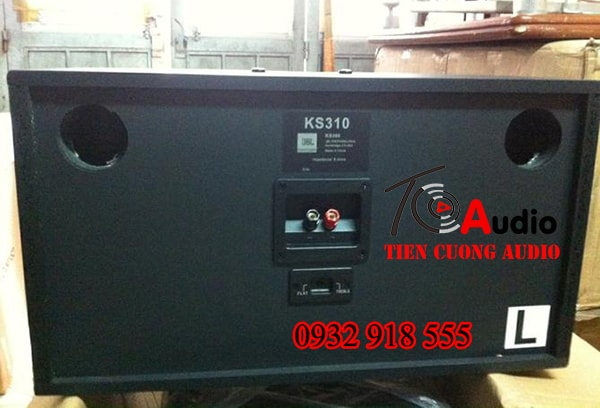 Mặt sau loa karaoke KS 310