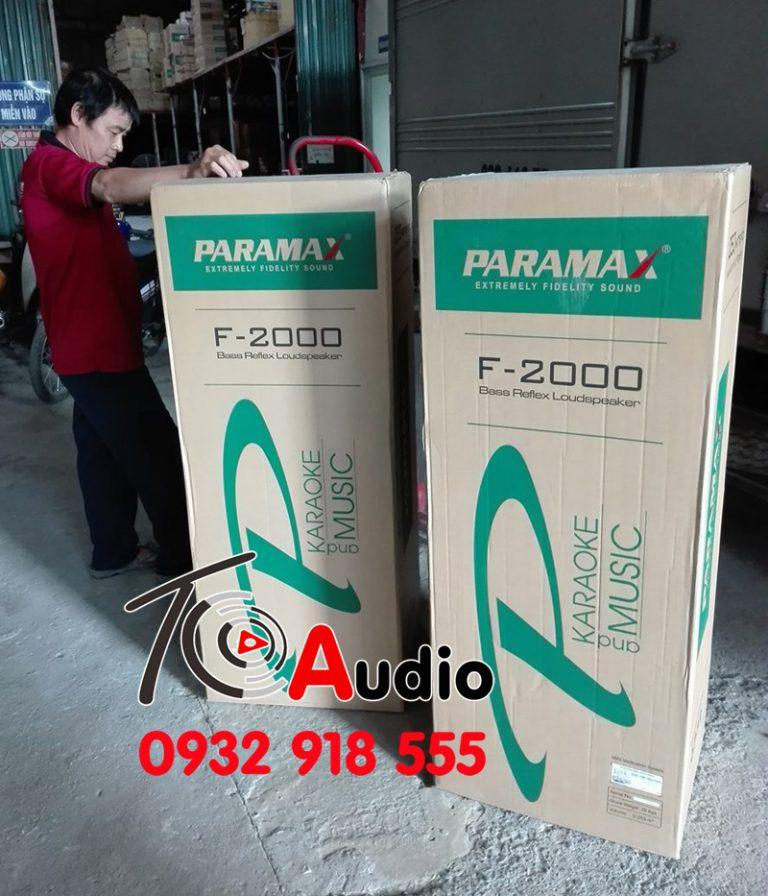 Loa karaoke Paramax F2000