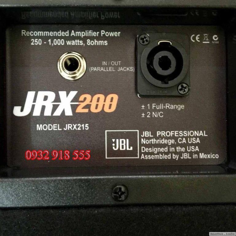 Loa sân khấu JBL JRX 215
