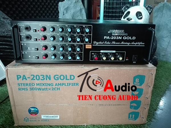 Amply karaoke Jarguar PA-203N Gold
