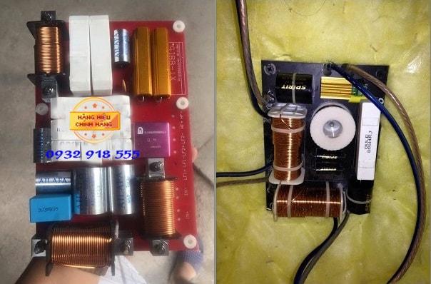 Phân tần chuẩn (bên phải) - Phân tần nhái (bên trái)