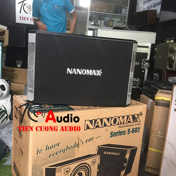 Mặt trước loa karaoke Nanomax S602