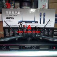 Micro Không Dây Shure UGX9 – Độ Nhạy Cao Bắt Âm Tốt