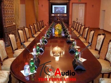 Hệ thống âm thanh phòng họp, phòng hội thảo