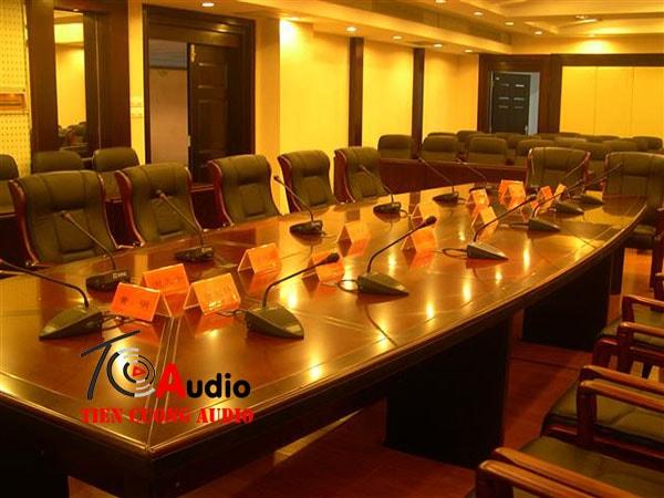 Hệ thống âm thanh hội thảo chuyên nghiệp (15 micro)