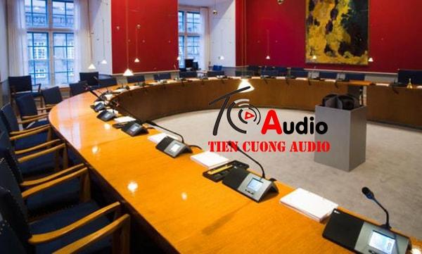Hệ thống âm thanh hội thảo chuyên nghiệp (56 micro)