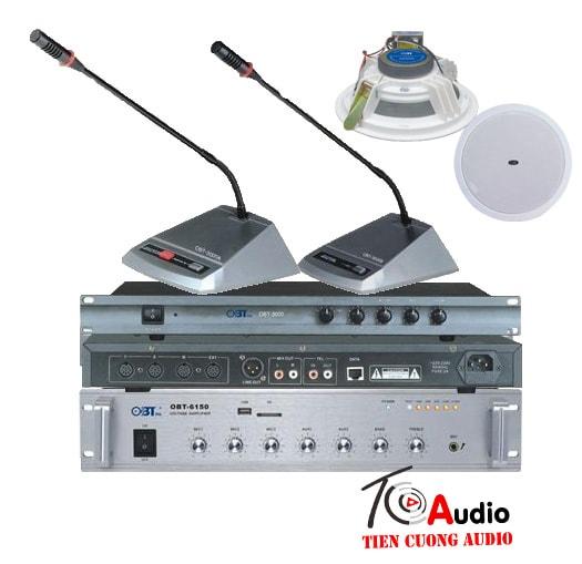 Hệ thống âm thanh phòng họp cấu hình 1