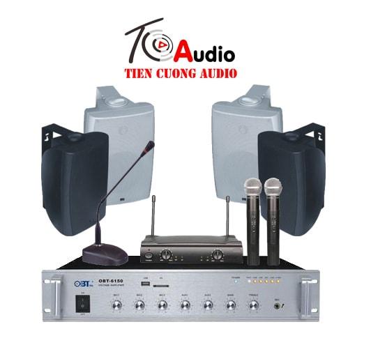 Hệ thống âm thanh phòng họp cấu hình 2