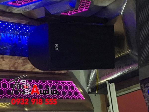 Loa Fly KR 1201 lắp phòng karaoke