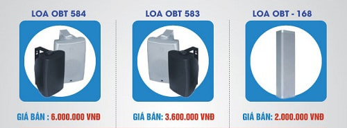 Loa phòng họp OBT