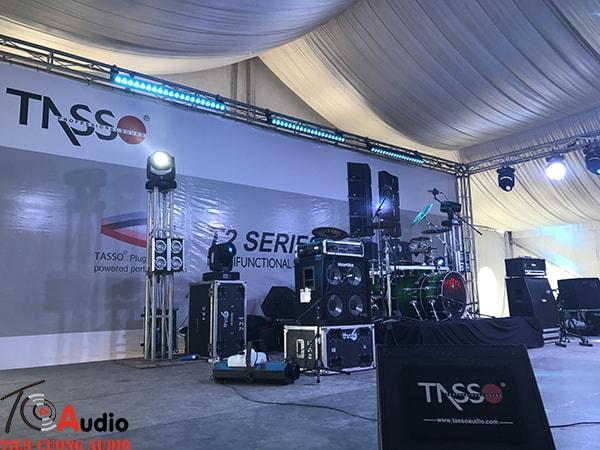 Gian hội trợ âm thanh của loa Tasso