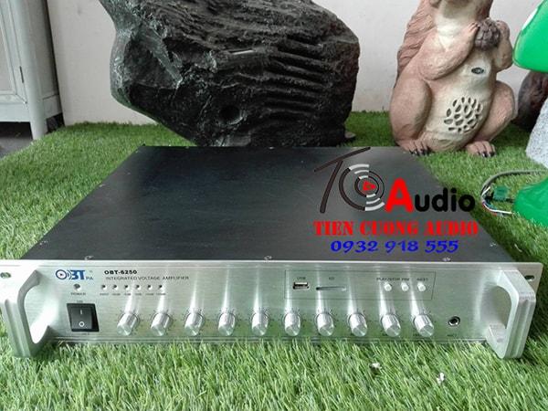 Amply sử dụng hệ thống âm thanh nhà xưởng