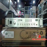 Amply Liền Mixer 6 Vùng APU USB-250W