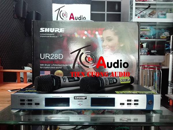 Micro shure UR28D