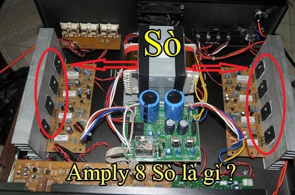 Amply 8 sò là gì ?