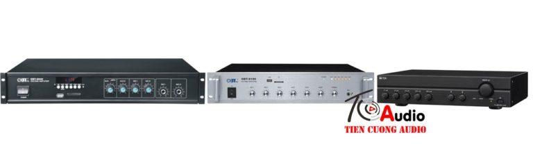 Amply chuyên dụng cho hệ thống âm thanh công cộng
