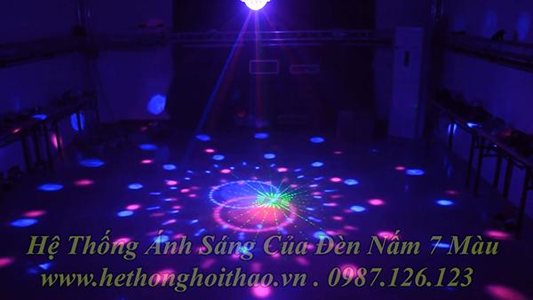 đèn nấm phòng karaoke
