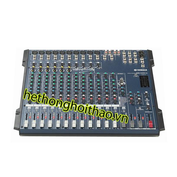 Mixer yamaha MG 166CX chuẩn