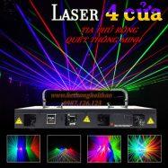 Đèn Laser 4 Cửa – Đỉnh Cao Công Nghệ Sân Khấu