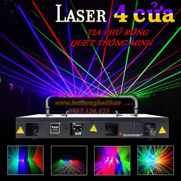 Laser 4 cửa
