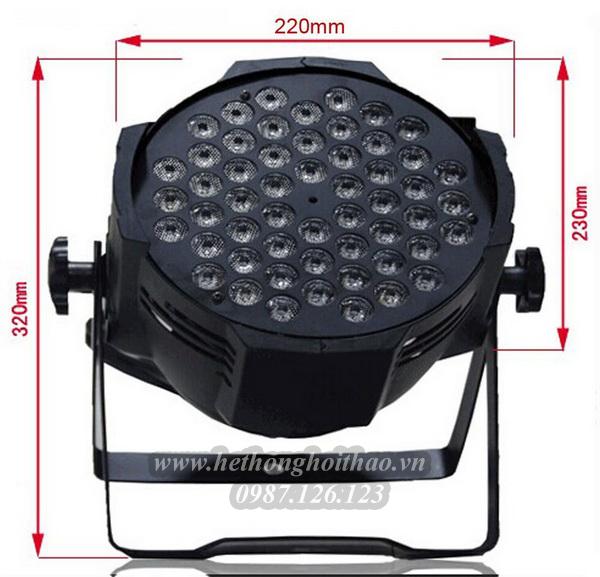 Cấu tạo của LED 54 bóng