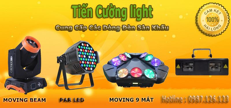 cung cấp đèn sân khấu chuẩn giá rẻ