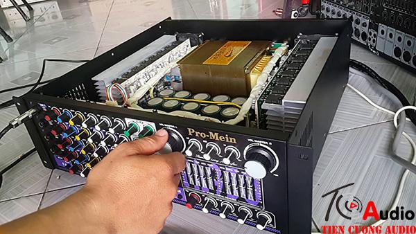 Cách xử lý amply bị mất 1 kênh