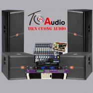 Dàn âm thanh trọn gói 69 triệu phục vụ văn nghệ JBL 725