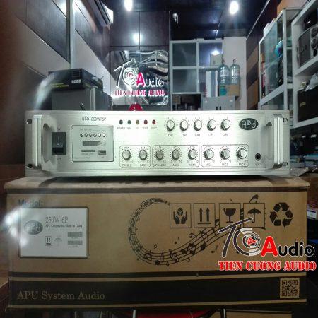 amply apu 250w điều khiển âm lượng từng vùng