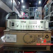 Amply APU USB 80W dùng cho loa âm trần, loa hộp, loa cột thông báo
