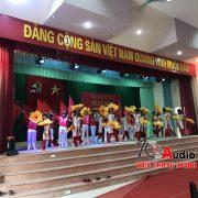 Dự án lắp đặt dàn âm thanh hội trường, sân khấu tại trường cơ điện Phú thọ