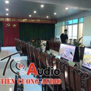 Dự án lắp đặt hệ thống âm thanh phòng hội thảo bệnh viện nhi Thái Bình