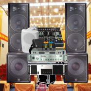 Bộ dàn âm thanh hội trường jbl chính hãng Mexico