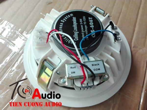 Loa âm trần APU CLS606T chuyên dùng cho nghe nhạc thông báo