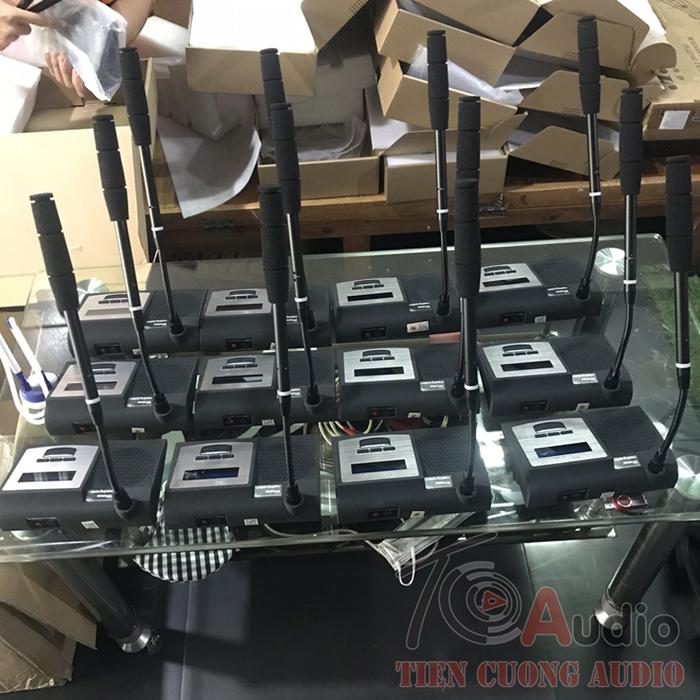 Micro cổ cò không dây thương hiệu APU cao cấp hiện nay