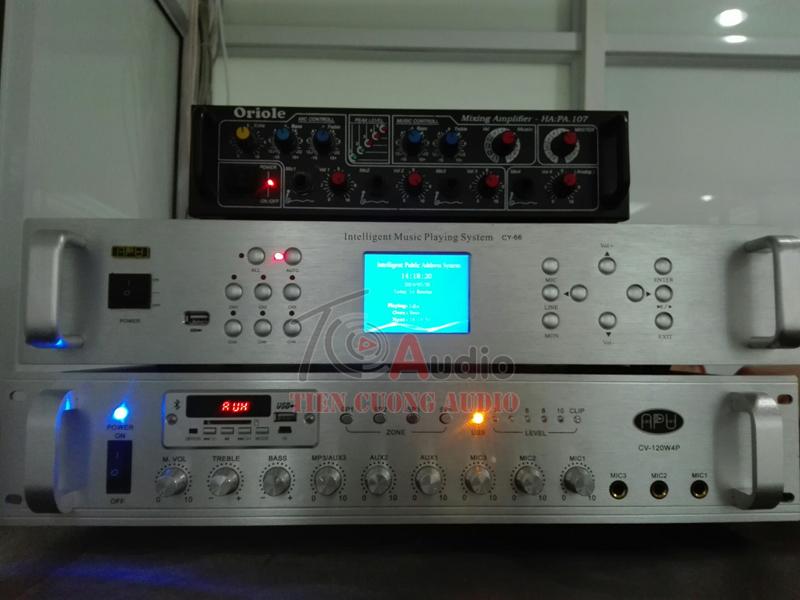 Tiến Cường Audio cung cấp hệ thống chuông báo giờ kèm hệ thống âm thanh tại Hà Nội