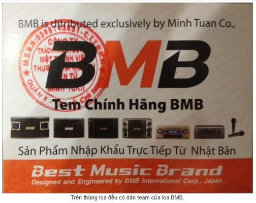 Thùng đều được dán team BMB của minh tuấn.