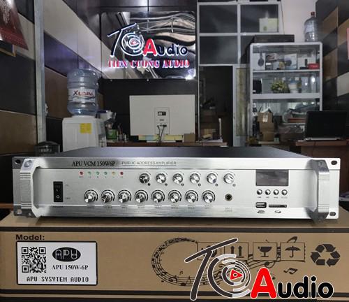 Amply APU VCM 150W6P hàng chính hãng, công nghệ Đức